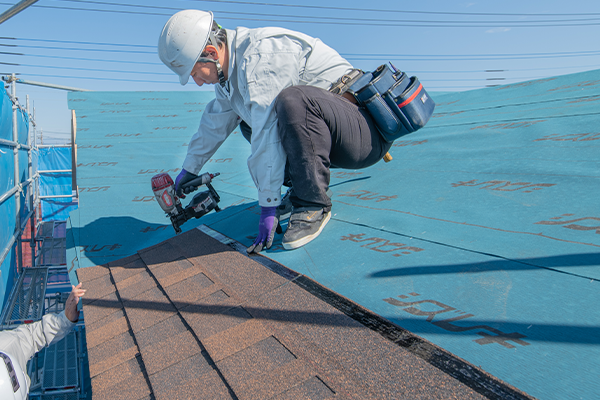 屋根カバー工事について
